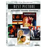 Best Picture Academy Award Winners: The English Patient   Chicago   Crash   No Country For Old Men   Shakespeare In Love by Trimark Home Video