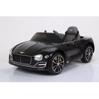 Dazone 12V Bentley Style Kids Ride on Truck Car, Manual/ Parental Remote Control Modes Truck Vehicle with Headlights, MP3 Port, Music for Children(Black)