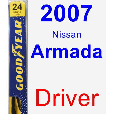 2007 Nissan Armada Driver Wiper Blade - (Armada Driver)