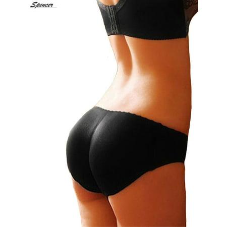 1244fdb5e4c Spencer - Spencer Women s Sexy Padded Seamless Control Butt Lifter Brief  Hip Enhancer Panties Underwear Shapewear