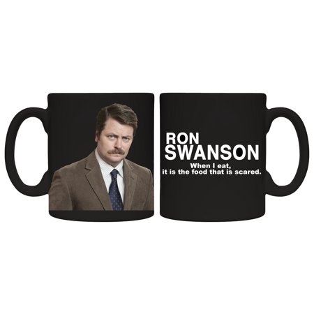 Mug - Parks And Rec - Ron Swanson Coffee Cup 15oz New