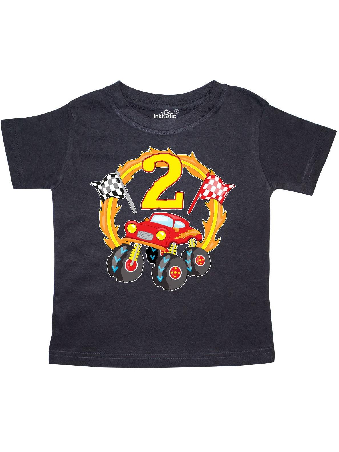 Monster Truck 2nd birthday Toddler T-Shirt