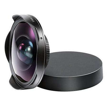 Neewer 37MM 0.3X HD Ultra Fisheye Lens for Sony DCR Cameras, such as SR37,SR38,TRV11,CX360,HC3,PJ10,UX10 and HXR-MC1 Digital Video