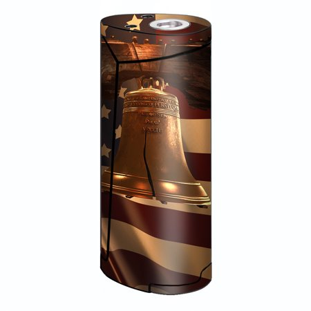 Engraved Liberty Bell (Skin Decal For Smok Priv V8 60W Vape / Liberty Bell America Strong)
