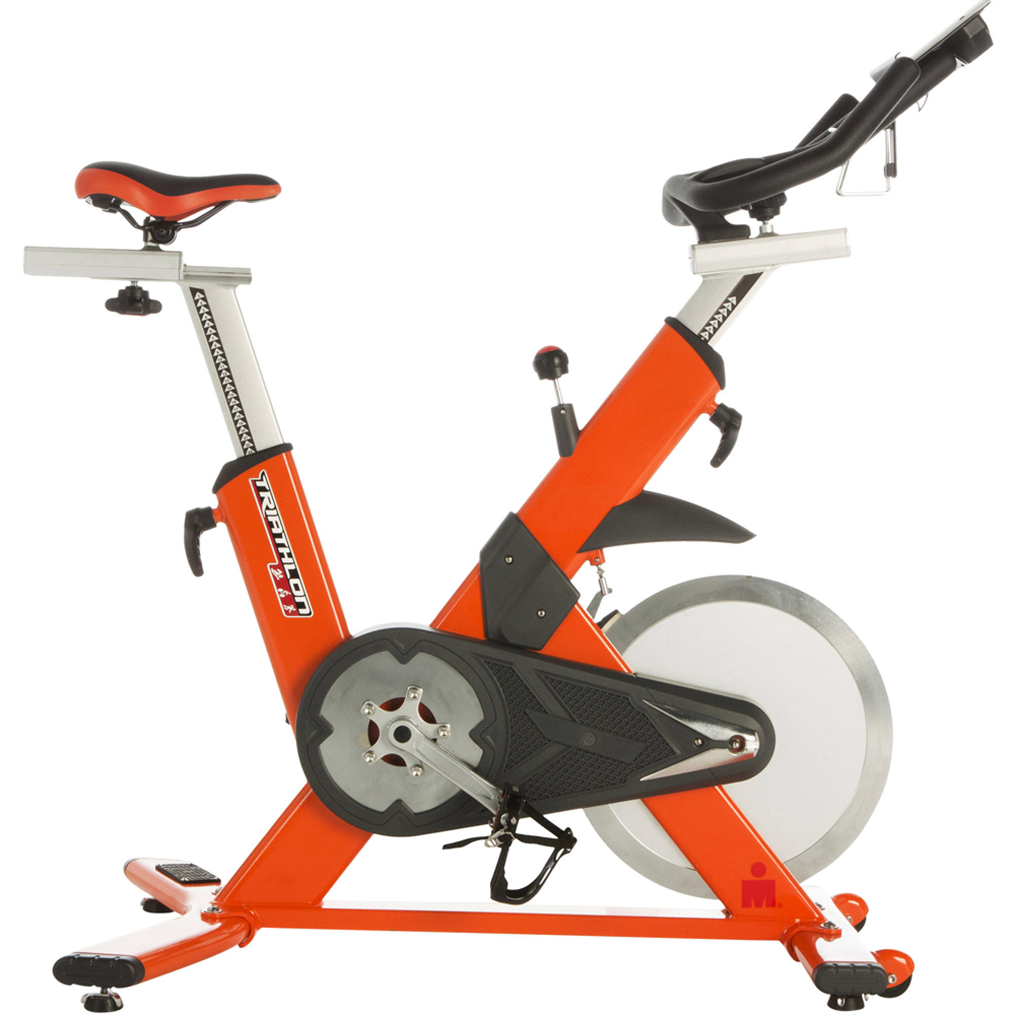 IRONMAN Triathlon X-Class 510 Smart Technology Indoor Cycling Exercise Bike with Bluetooth and Bonus My Cloud Fitness Chest Belt