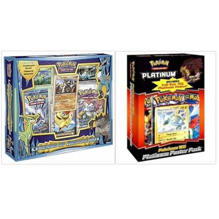 Pokemon Trading Card Game Legends of Justice Collection Box and Platinum Poster Pack Magnezone Vintage Collection Box Bundle, 1 of - Platinum Bundle