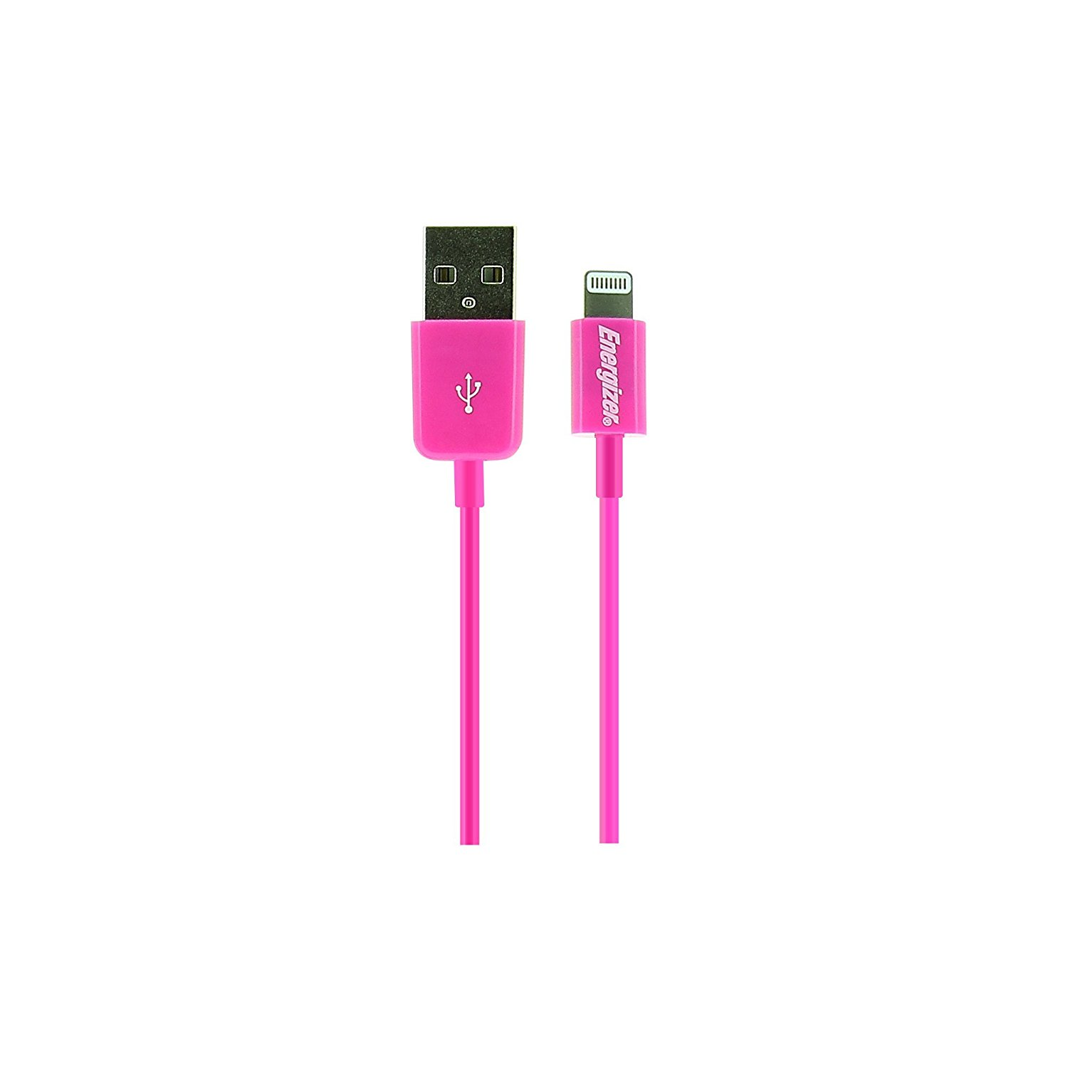 Energizer High Tech Lightning to USB Charge & Sync Cable for Apple Lightning Devices (1M   3.3Ft) Red by Energizer