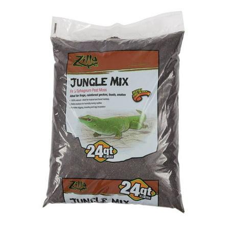 Zilla Jungle Mix - Fir & Sphagnum Peat Moss Mix 24 QT - Jungle Jewels Reptiles