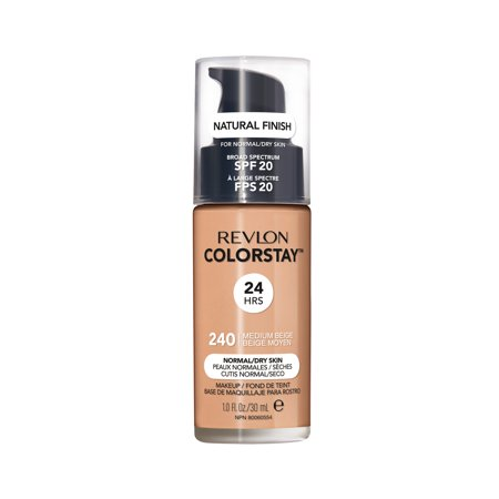 Revlon ColorStay™ Makeup for Normal/Dry Skin SPF 20, Medium Beige - Pale Skin Halloween Makeup