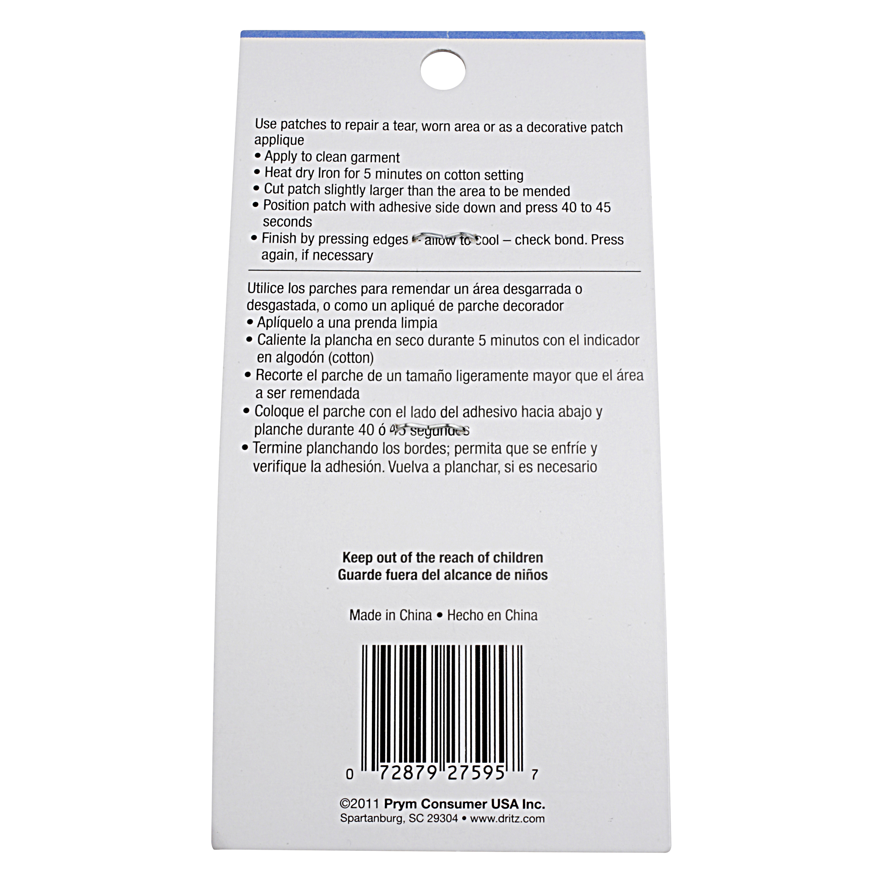 Iron On Patches for Repair, 10 Count Patch Set
