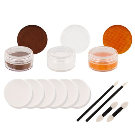 BROWNS Football FACE PAINTING SET Fan Makeup Paint Kit (Face Paint For Football Games)