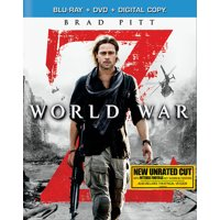 World War Z (Unrated) (Blu-ray + DVD + Digital Copy)