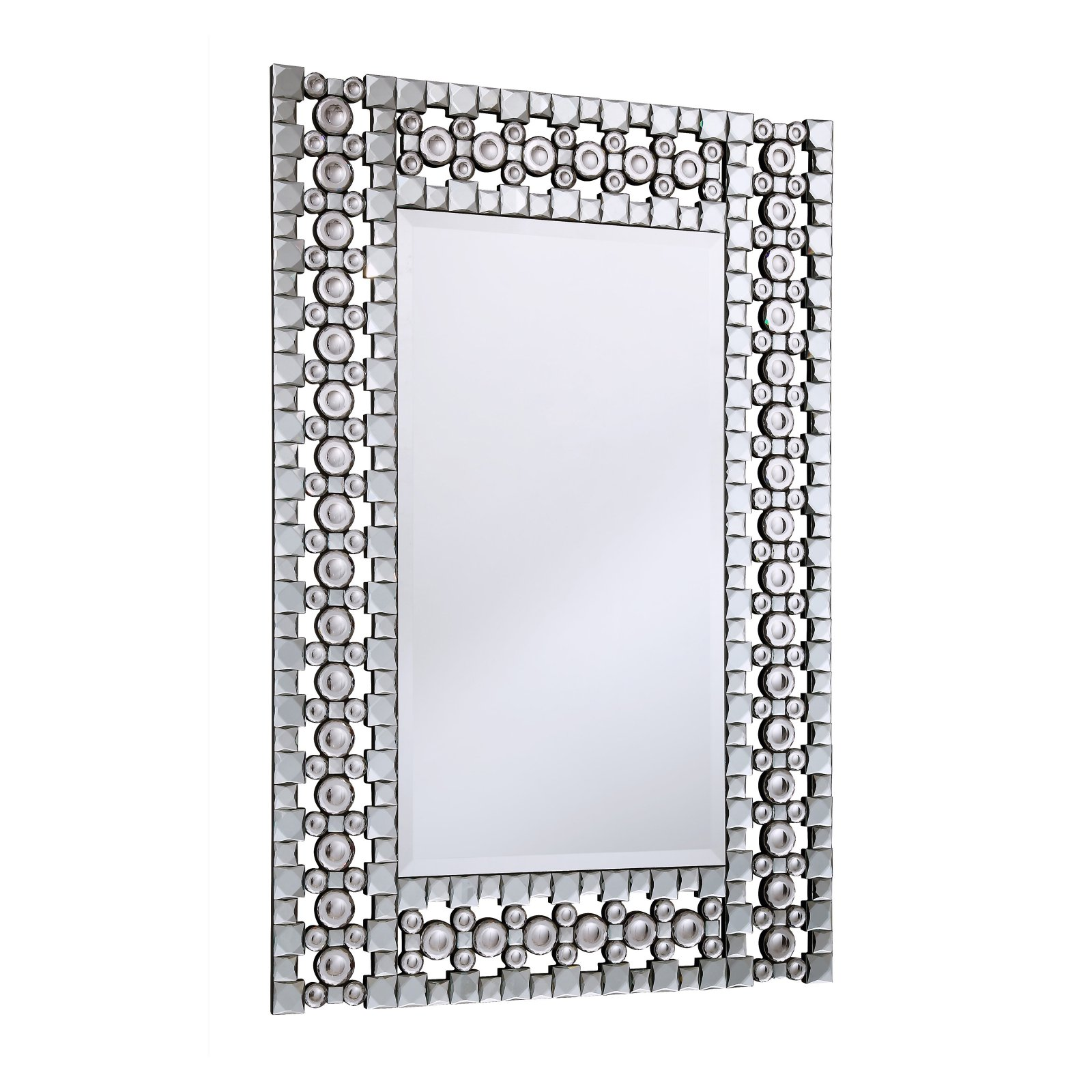 Elegant Furniture & Lighting Modern Wall Mirror - 30.75W x 45.78H in.