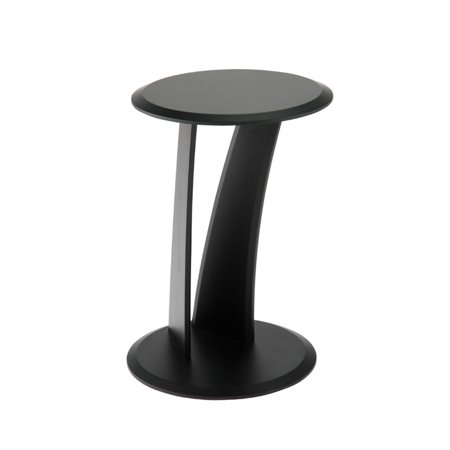 Outstanding Eurostyle Mushroom Round End Table In Black Download Free Architecture Designs Crovemadebymaigaardcom