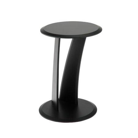 Super Eurostyle Mushroom Round End Table In Black Download Free Architecture Designs Ferenbritishbridgeorg