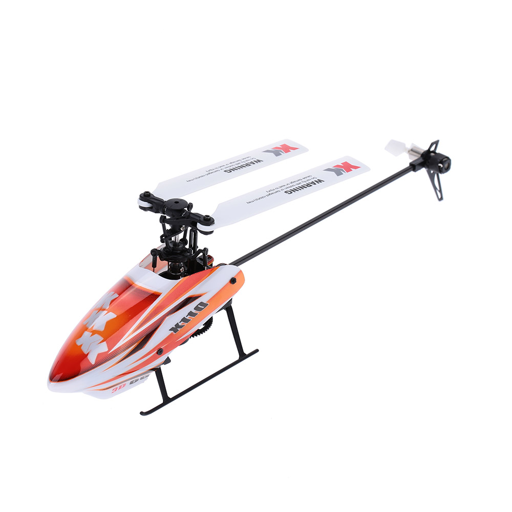 XK Blast K110-B 6CH 3D 6G System Brushless Motor BNF RC Helicopter by