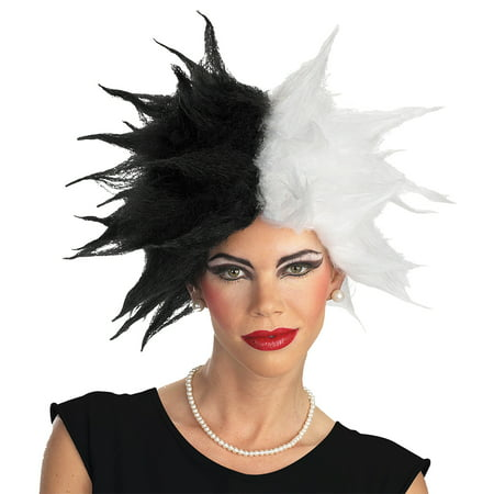 Cruella Wig Adult Halloween Accessory
