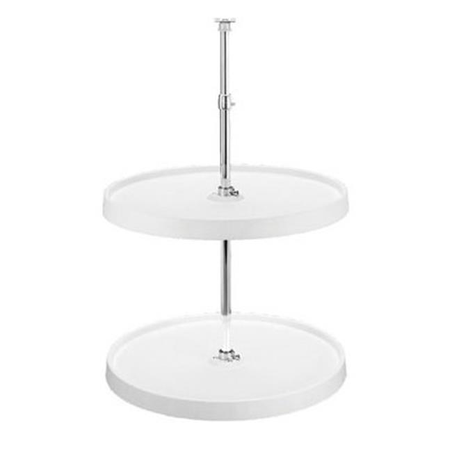 Rev A Shelf Rs6012.28.15.52 28 In. Series Full Round Lazy Susan Set - Almond