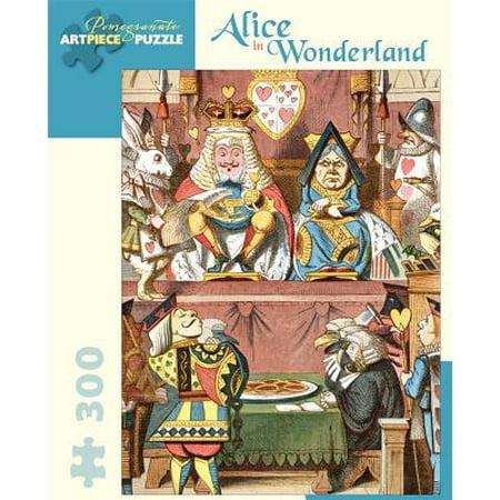 Alice in Wonderland 300-Piece Jigsaw Puzzle