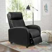 Walnew Home Theater Recliner with Padded Seat and Backrest