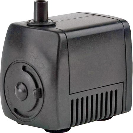 Little Giant 566714 Magnetic Drive Statuary Fountain Pump, 77 gph, 8 W, 115 V, 0.14 A, 60 - Little Giant Fountain Pumps