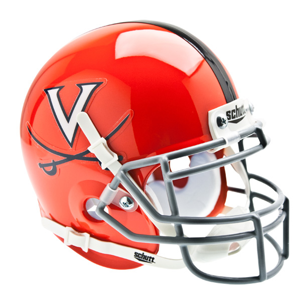 Schutt NCAA Virginia Cavaliers Mini Authentic XP Football Helmet