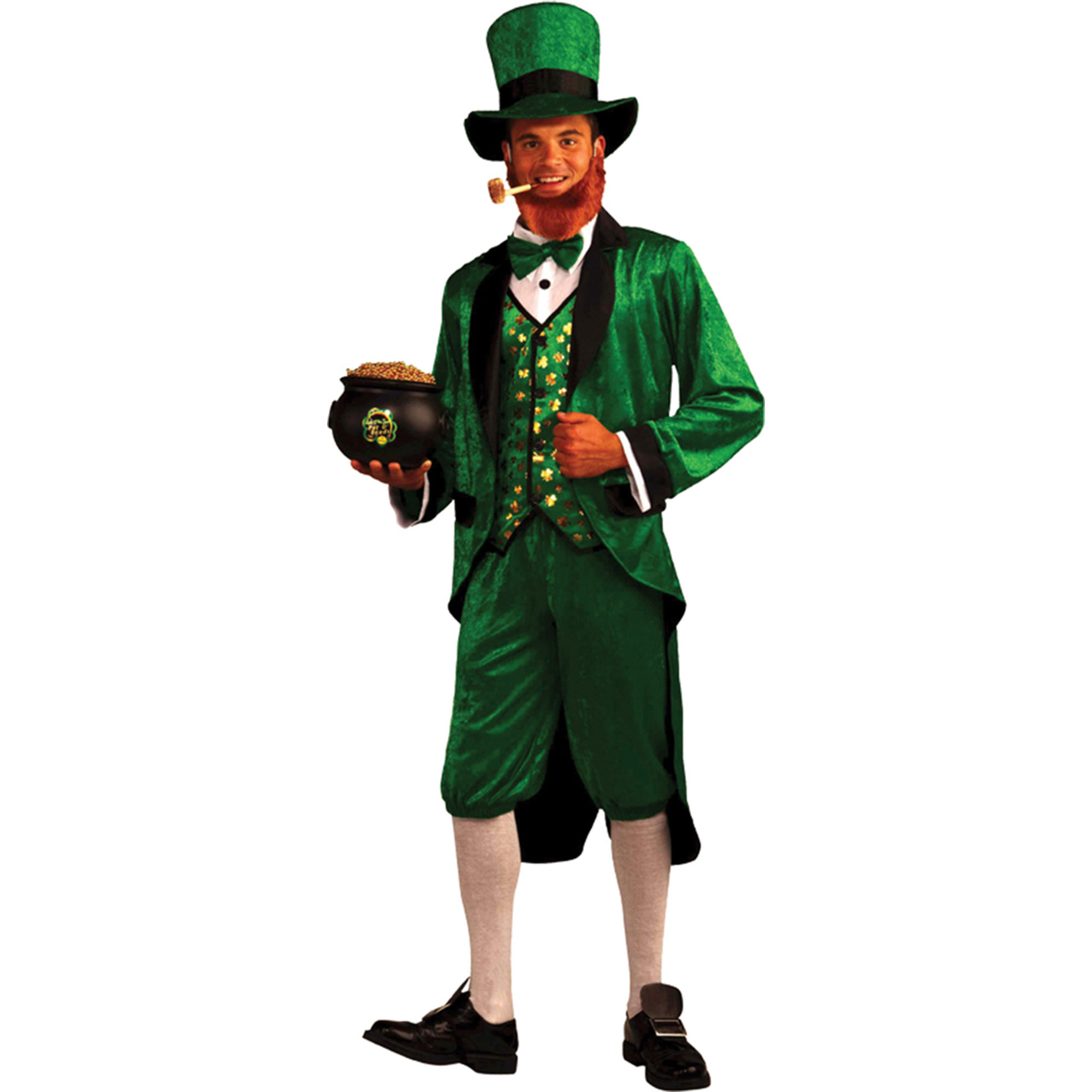 Morris Costumes Mens MR LEPRECHAUN ADULT pot o' gold in this great leprechaun outfit, Style FM65810
