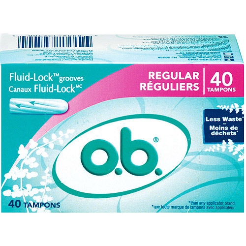 o.b. Tampons Regular, 40ct