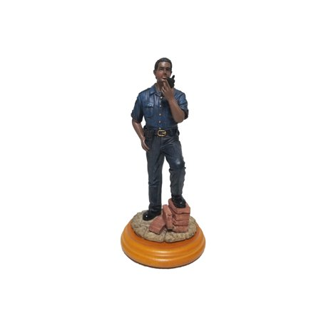Policeman Statue A Salute to African American Professionals Ceramic Figure](Ceramic Figures)