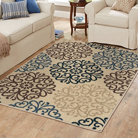 Better Homes And Gardens Blue Clarkston Area Rug