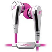 SMS Audio STREET by 50 Wired Ear Buds, Pink