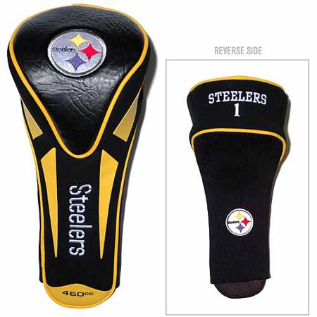 Team Golf NFL Pittsburgh Steelers Single Apex Driver Head Cover