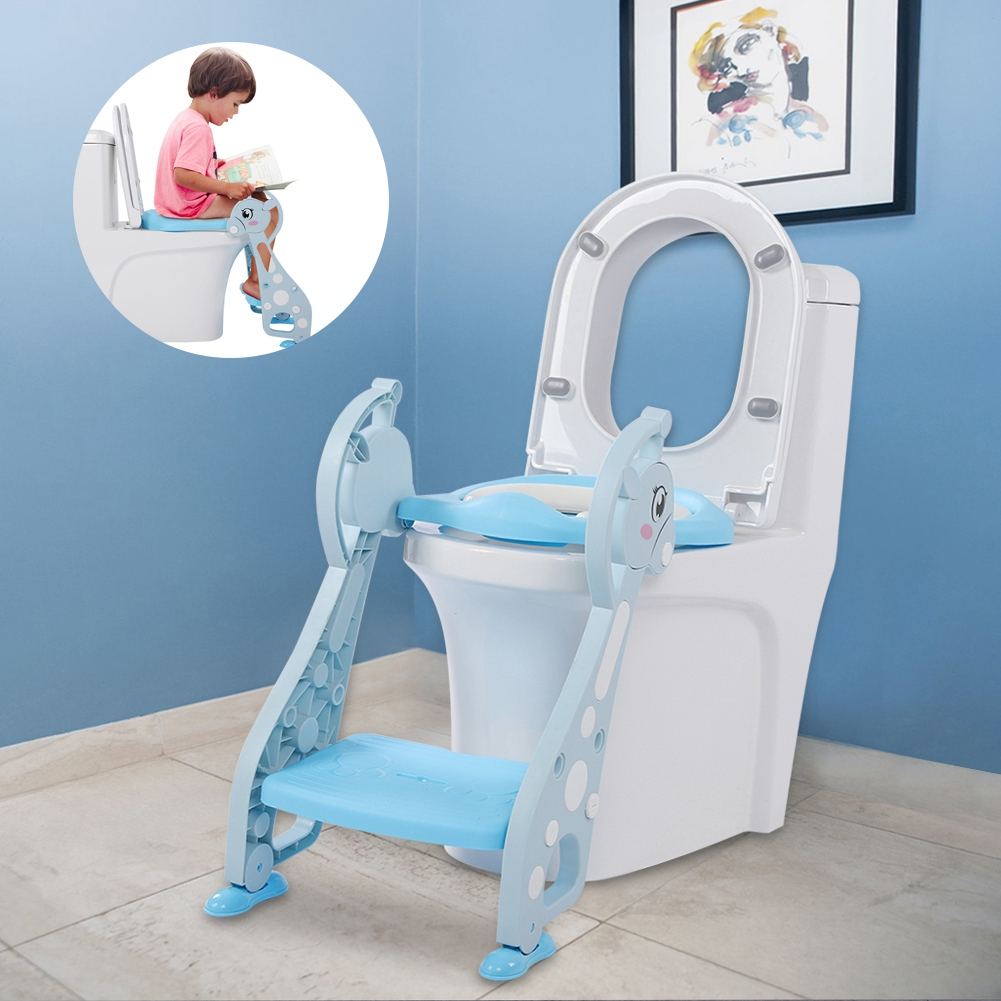 Lv. life Cute Deer Armrest Ladder Potty Chair for Baby Boy Kids ...