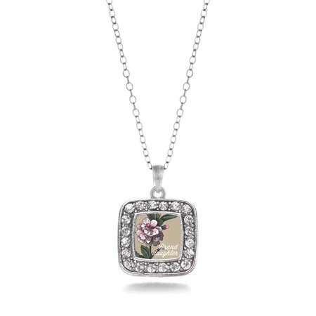 Blossom Necklace (Granddaughter Apple Blossom Flower Classic Charm)