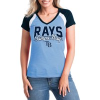 los angeles 9c6ac 11c4b Product Image MLB Tampa Bay Rays Women s Short Sleeve Team Color Graphic Tee