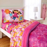 Franco Nickelodeon's Dora and Friends 'Hola Amiga's Twin Sheet Set