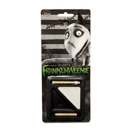 Frankenweenie Black & White Costume Makeup Kit One Size