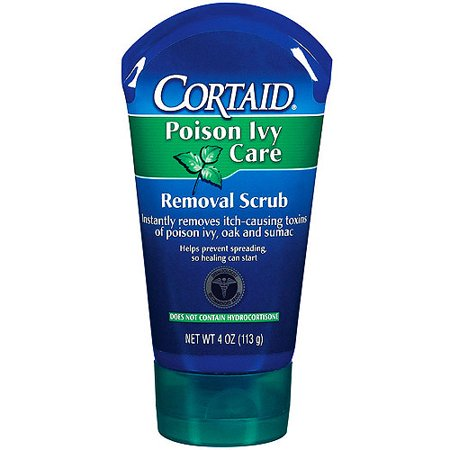 cortaid poison ivy care removal scrub 4 oz. Black Bedroom Furniture Sets. Home Design Ideas
