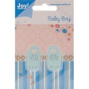 Joy! Crafts Cut & Emboss Die, Baby Boy Shoes