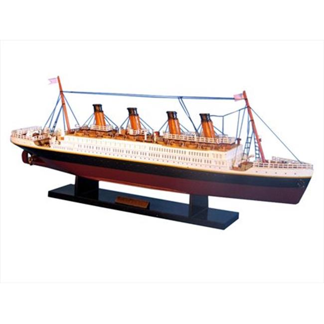 Handcrafted Model Ships A1704 RMS Titanic Limited 20 inch Decorative Cruise Ship