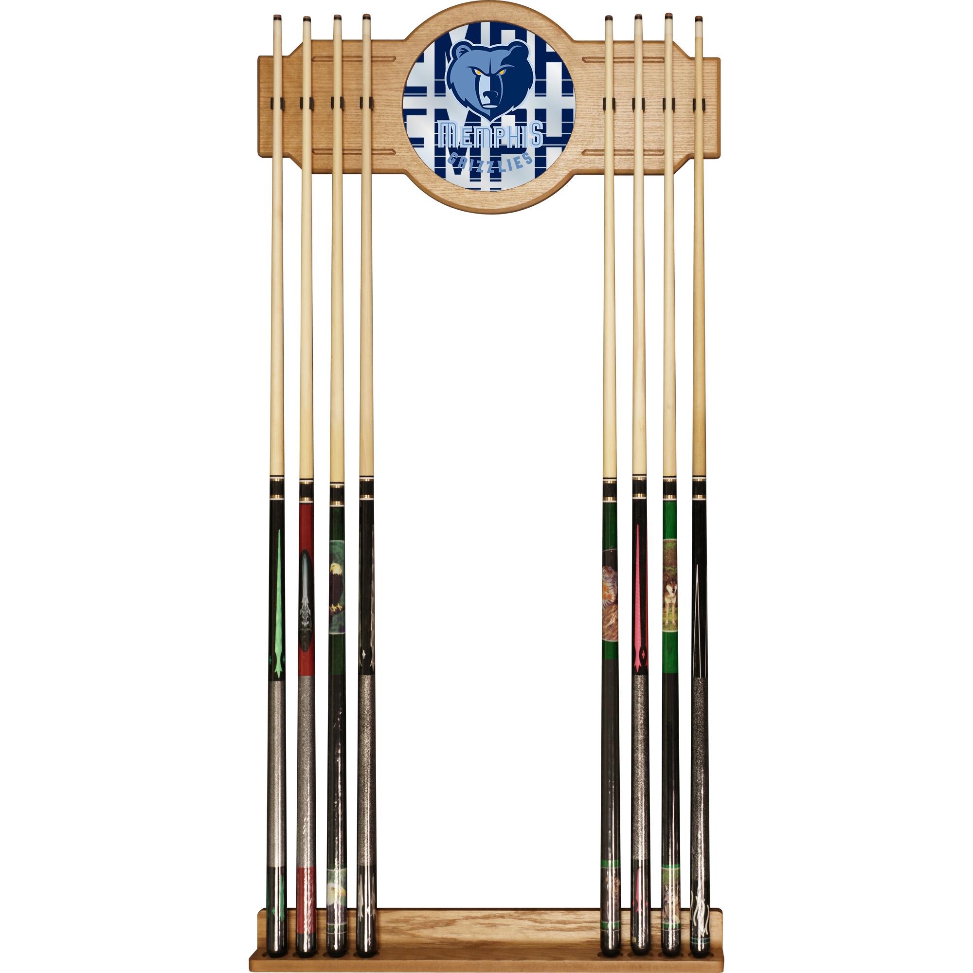 NBA Cue Rack with Mirror - City - Memphis Grizzlies