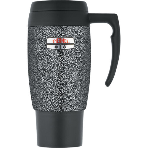THERMOS 20-Ounce Travel Mug with Hammertone Finish
