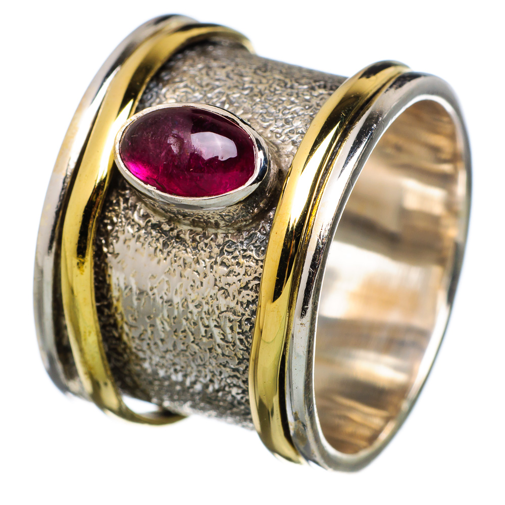 Ana Silver Co Garnet 925 Sterling Silver Ring Size 9 RING798001