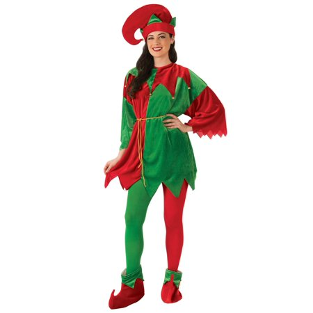 Adult Elf Costume Set with Shoes for $<!---->