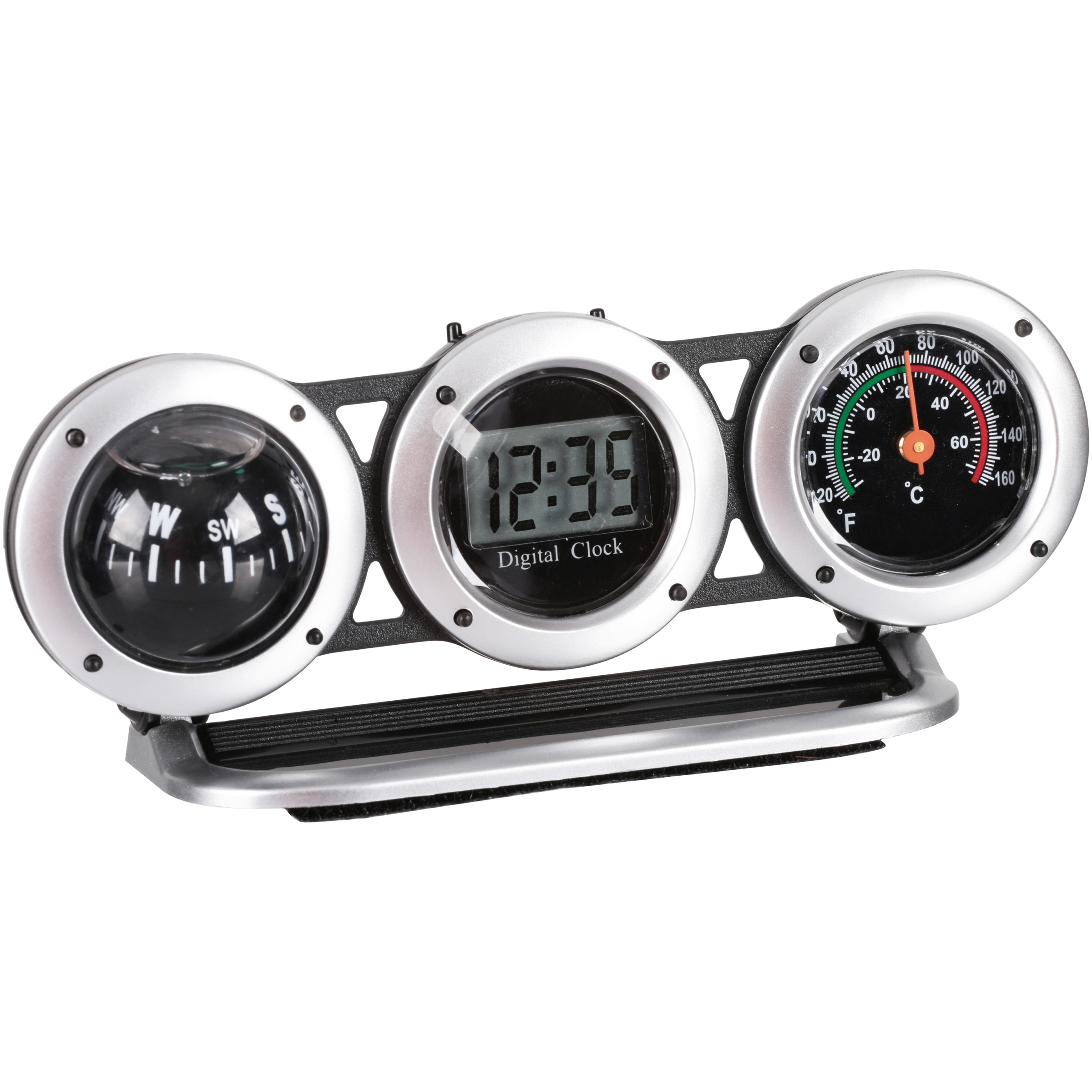 Bell® Clock Compass Thermometer