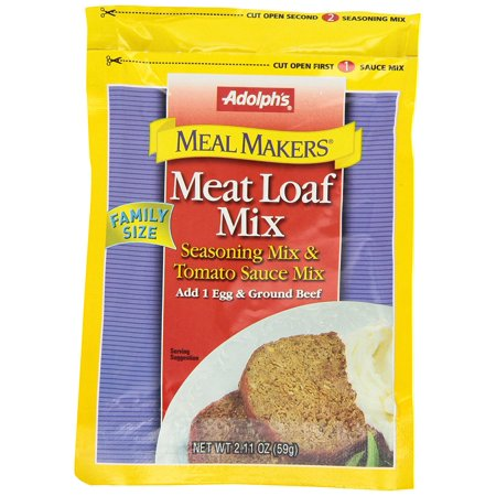 Image of Adolph's Meat Loaf Mix, 2.11 OZ (Pack of 4)