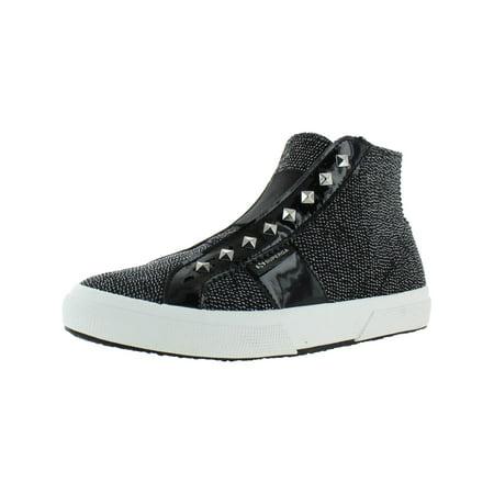 Superga Womens 2795 Metallic High Top Fashion Sneakers Driving Shoes High Top