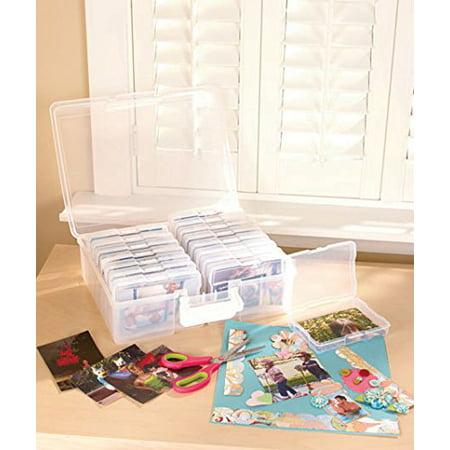 Christmas Photo Organizer Case Holiday Gift Idea Sort & store 1,600 photos! ()
