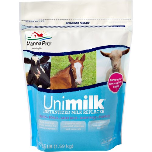 Manna Pro: Milk Supplement Unimilk, 3.50 lb