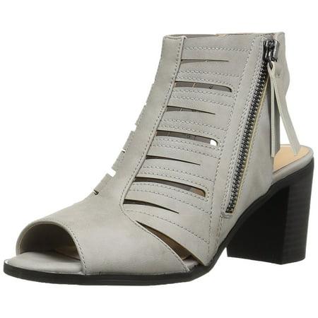 Easy Street Womens Karlie Peep Toe Ankle Strap Mules